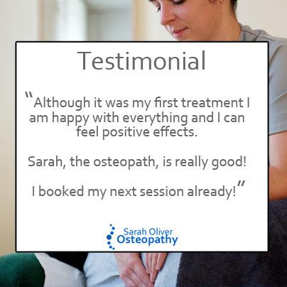 Sarah Oliver Testimonial