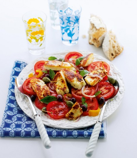 Halloumi Salad Recipe
