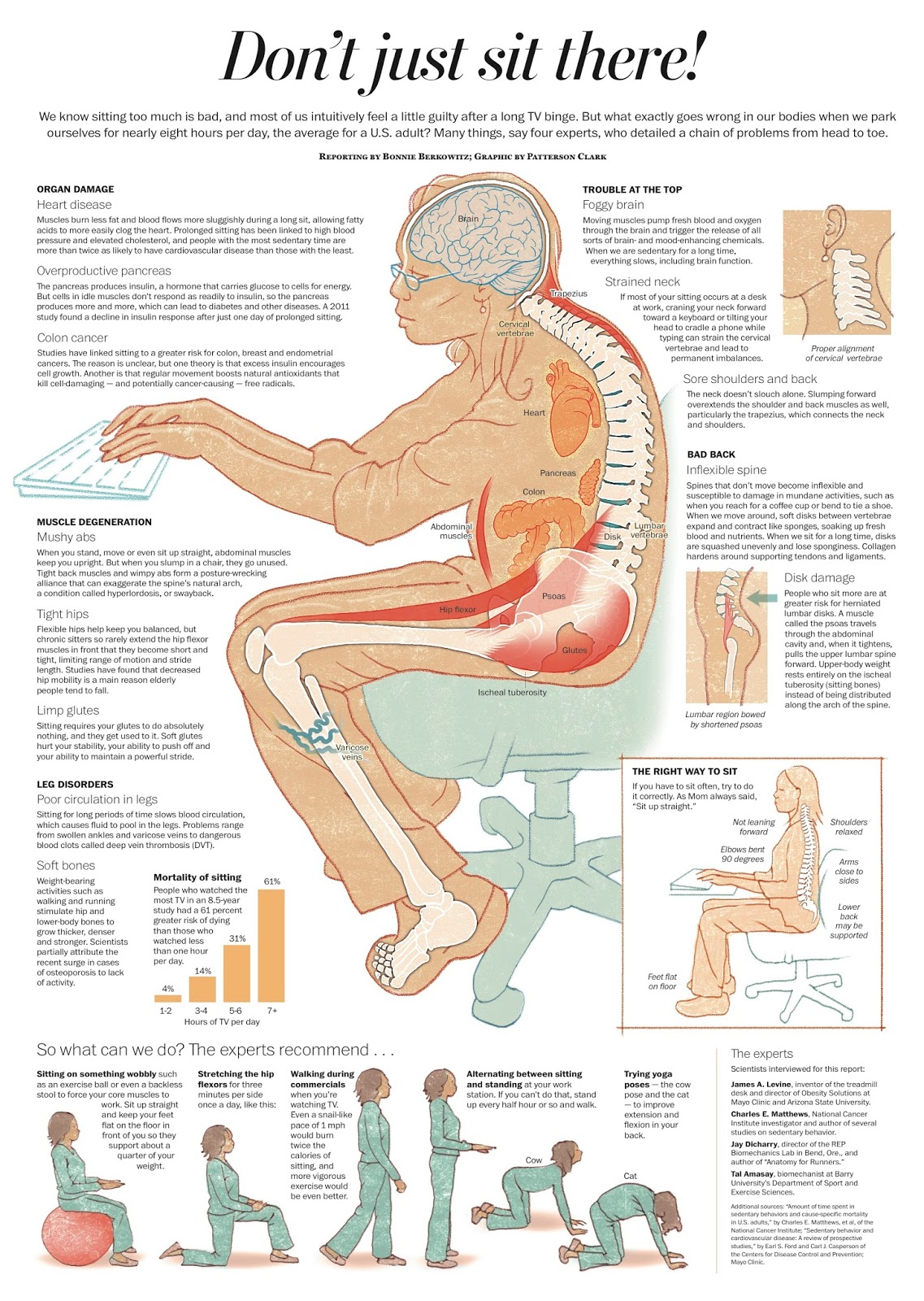 Find out why sitting is seriously damaging your health, and what to do about it.