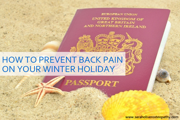 How to avoid back and neck pain on your winter break