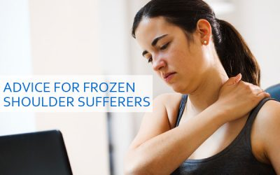 Advice for Frozen Shoulder Sufferers
