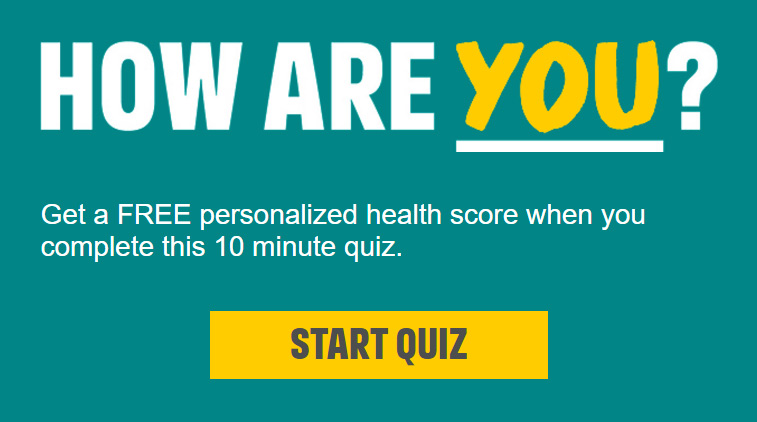 how Are You quiz by Public Health England