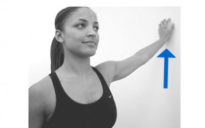 Shoulder Stretch – Walk Up The Wall