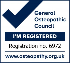 Registered with General Osteopathic Council