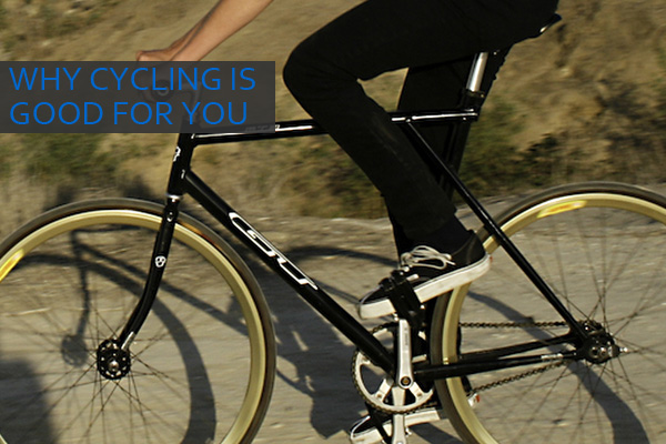 Cycling is Good for You + Tips for Beginners