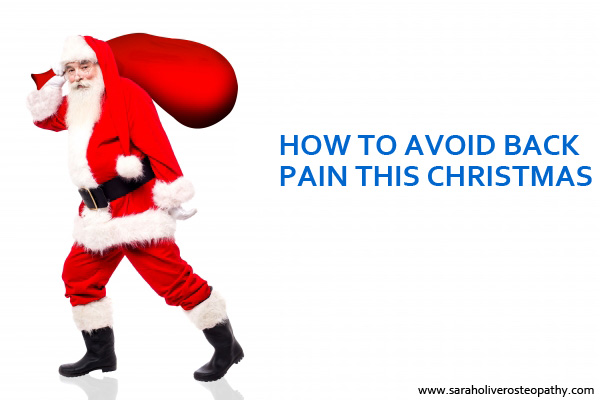 Don't Succumb to Back Pain this Christmas