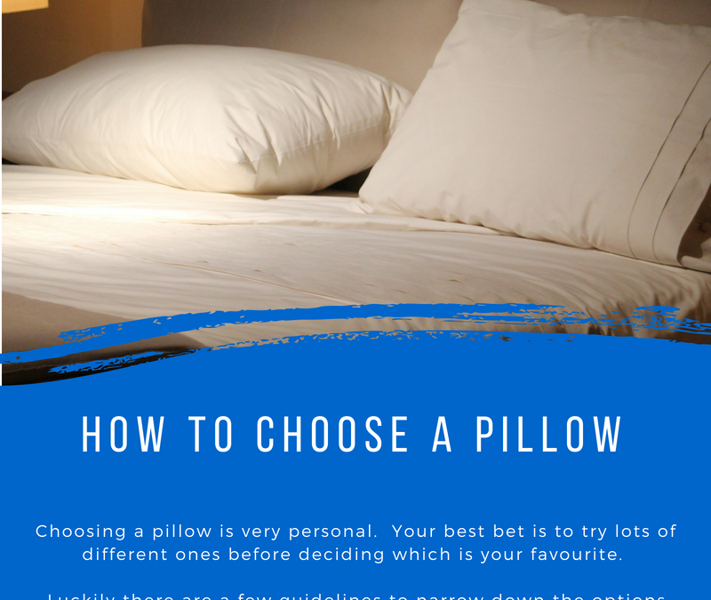 How do I choose a good pillow?