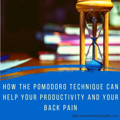 how the pomodoro technique can help your productivity and your backpain