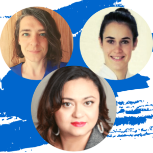 Antonieta, Nadia, Sarah, Osteopaths